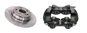 Brakes-Brake Parts-Calipers - Brake Boosters Image 1